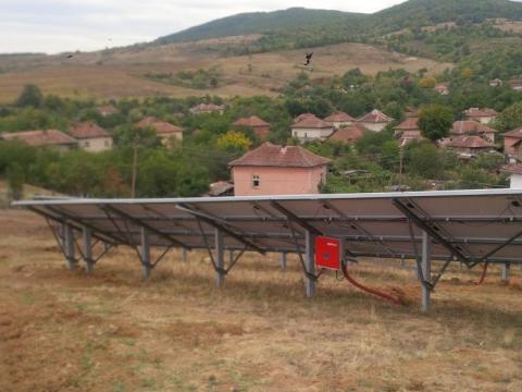 Фотоволтаична центрла село Черкаски община Вършец