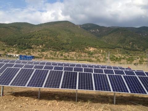 Photovoltaic plants city Maglij