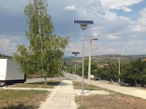 Соларна улична лампа с.Ковачевци област Перник